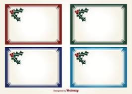 holly christmas vector labels vector files 365psd com