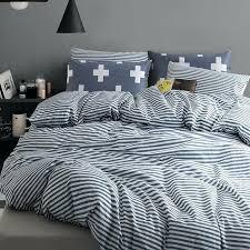 King Size White Coverlet Blue Striped Duvet Cover Ikea Blue And White Striped King Size
