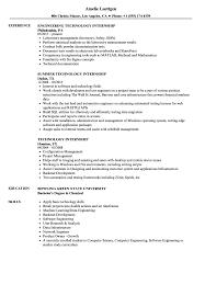 college student resume engineering internship jobs technology internship resume sles velvet jobs exles for