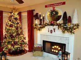 Images Of Mantels Decorated For Christmas Neutral Vintage Christmas Mantel