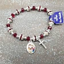 rosary bracelet christmas rosary bracelet rosary bracelet