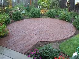 small round patios google search back yard pinterest