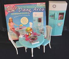 Barbie Dining Room Set Barbie Refrigerator Ebay