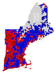 New England Map by 2016 New England Town Map