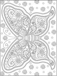 detailed butterfly coloring pages for adults detailed butterfly coloring pages for adults page adult