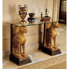 Royal Home Decor by Amazon Com Design Toscano Royal Egyptian Cheetahs Sculptural