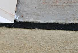 filling expansion and conctraction joints in a garage floor all