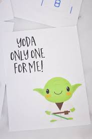 yoda valentines card wars valentines day cards part 2 our handcrafted