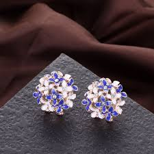 store stud earrings flowery stud earrings all free store