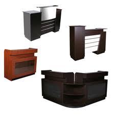 Two Person Reception Desk Salon Equipment Salon Furniture Salon Equipment Packages