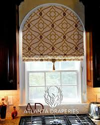 Palladium Windows Window Treatments Designs Arched Window With Pattern Placement Pinteres