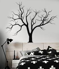vinyl wall decal gothic nature tree branches home design stickers
