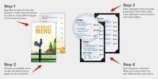menu maker free restaurant menu design menu creator