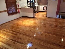 floor sanding polishing of cypress timber at everton park