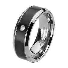 black titanium wedding bands for men his hers 3 pcs black titanium cz band three women princess