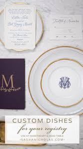 monogrammed dishes 614 best monogram everything images on wedding