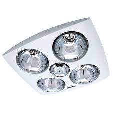 Bathroom Exhaust Fan Light Heater Fabulous Martec Contour 4 Bathroom Exhaust Heat Light Universal In