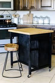 kitchen diy kitchen island on wheels for leading diy kitchen