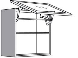 hängeschrank küche glas mit glas lifttür mit echt alu rahmen
