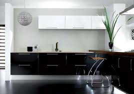 Kitchen Design Black And White Small Black And White Kitchen Design Ideas Image Pictures