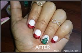 christmas nail art red and green fantastic diy christmas nail art