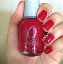 red flare by orly polished pr