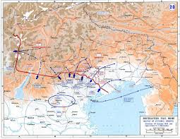 Ww1 Map Battle Of Vittorio Veneto Wikipedia