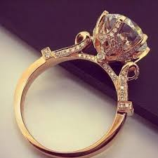 engagement rose rings images 5 unexpected rose gold engagement rings that actually look like jpg