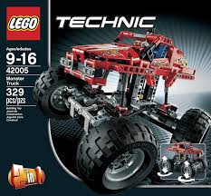 spokane monster truck show amazon com lego technic 42005 monster truck toys u0026 games