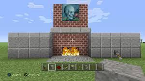 hidden fireplace door for minecraft xbox one edition youtube
