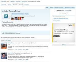 Online Resume Builder Reviews by Chic Idea Linkedin Resume Builder 1 Linkedin Resume Builder Review