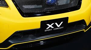 yellow subaru baja subaru xv sport concept unveiled in tokyo