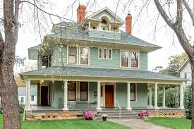 boston exterior paint colors house victorian with curved deck