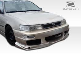 1996 toyota corolla front bumper toyota corolla front bumpers toyota corolla bomber style front