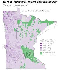 Mn State Park Map by Six Maps To Help Make Sense Of Tuesday U0027s Election In Minnesota