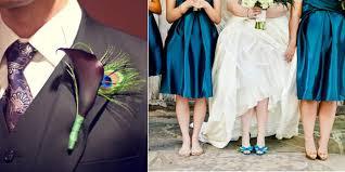 Peacock Themed Wedding Peacock Wedding Theme Peacock Accents