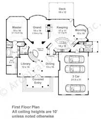 Traditional Colonial House Plans by Centre Street Luxury Floor Plan Traditional House Plan
