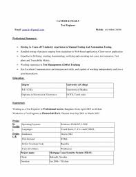 Resume Template On Word 2007 The Brilliant Resume Format Download In Ms Word 2007 Resume