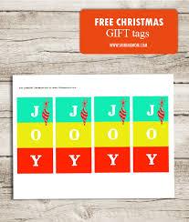 free printable christmas gift tags all cute