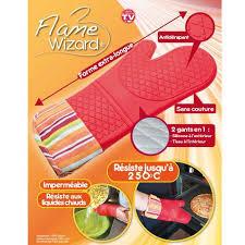 gant cuisine silicone gant anti chaleur en silicone et tissu de forme achat vente