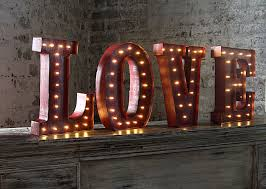 lighted pictures wall decor led wall art battery operated 12 inch lighted metal letters love
