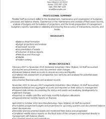 winsome inspiration staff accountant resume 9 professional staff