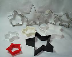 star cookie cutter etsy