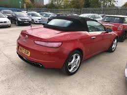 2007 alfa romeo spider 2 2 jts 2dr 2 former keepers 1 year mto