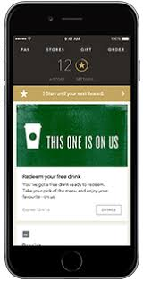 mobile applications starbucks coffee company