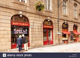 chambres d h es st malo cafe de st malo on the corner of rue st vincent and place la