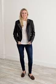 day birger day birger et mikkelsen leather biker jacket