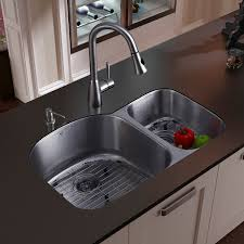 kitchen sink and faucet combinations kitchen sinks stainless undermount captainwalt com