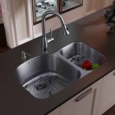 kitchen sink and faucet combo kitchen sinks stainless undermount captainwalt com