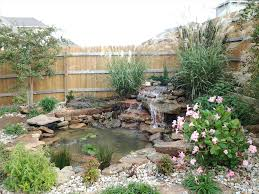 pond landscape ideas backyard fence ideas